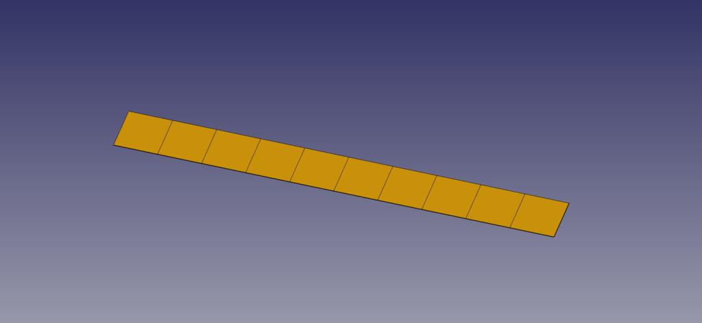 梁モデル 四角形要素