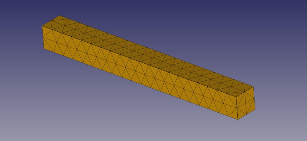 梁モデル 四面体要素