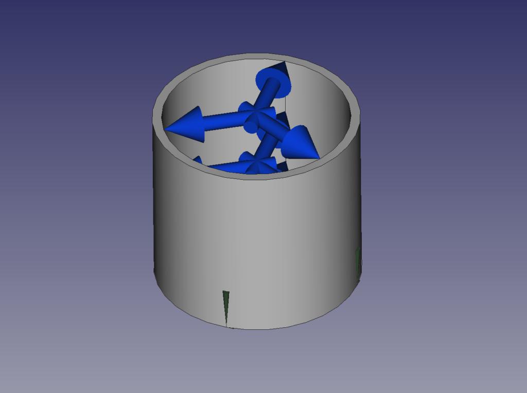 フープ応力用モデル
